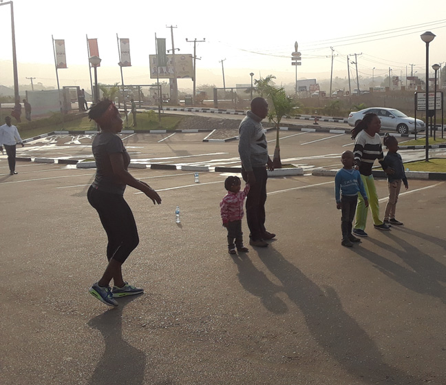 Family Workout Session