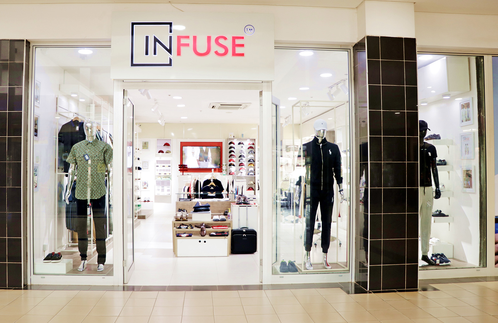 InFuse Fashion shop front